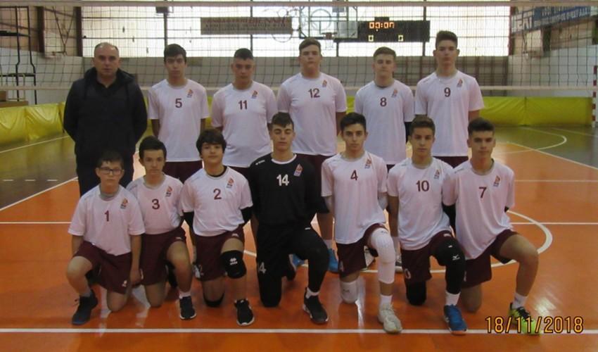 Πρωτάθλημα Βόλει Παμπαίδων – Αθλος Ορεστιάδα