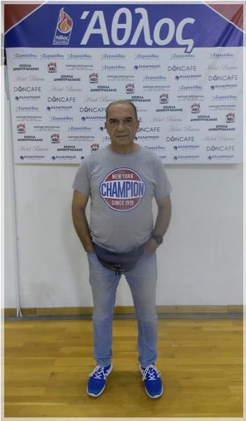 Ανανέωση συνεργασίας με τον προπονητή κ. Παναγιώτη Τσιακμάκη