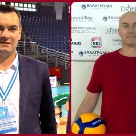 Κώστας Ντινούδης και Ανδρέας Κιουτσούκης